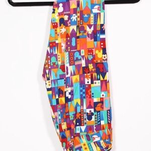 LuLaRoe Pants - Tc LuLaRoe Disney leggings